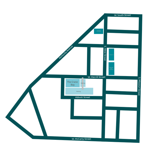 Crane Bay Parking Map