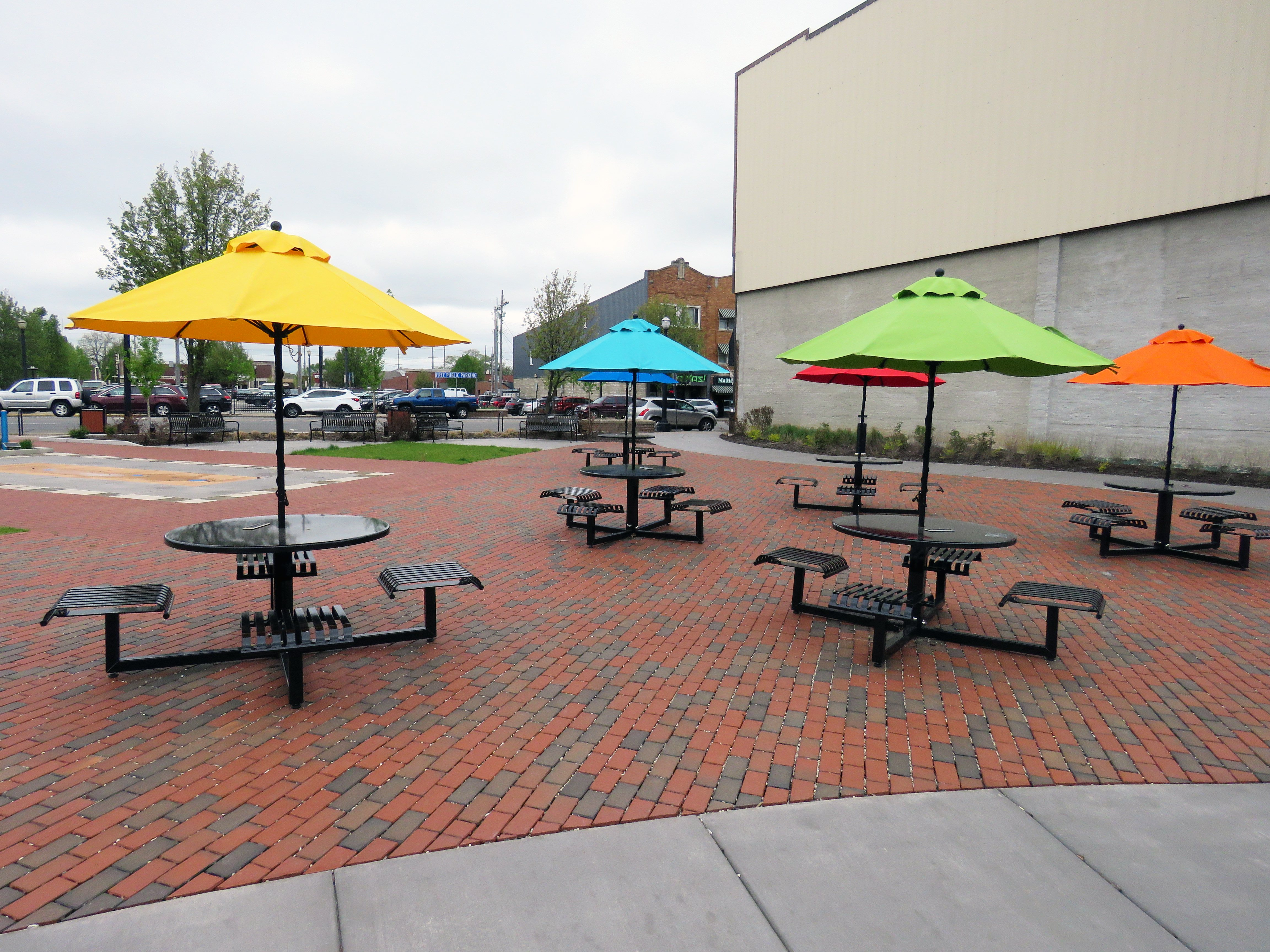 Downtown la porte features innovative plaza aim for City of la porte jobs