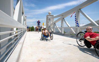 Kokomo celebrates new trail bridge