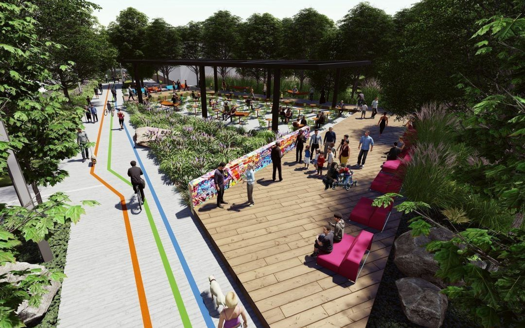 Fishers leaders launch vision for trail corridor