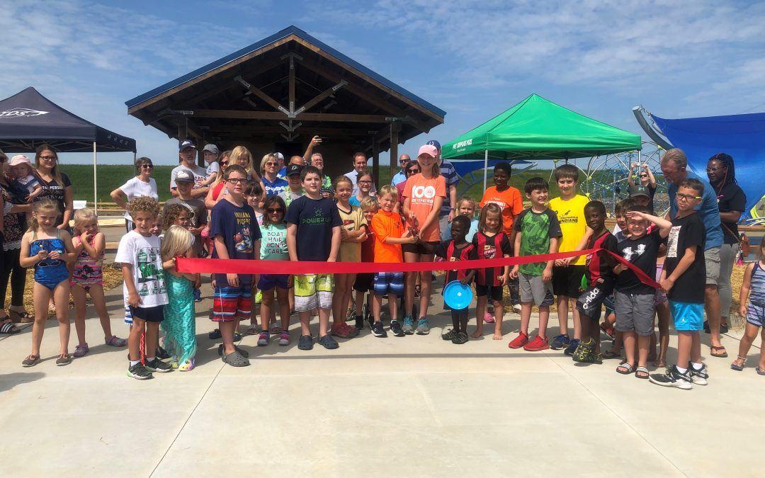 Whitestown opens downtown park